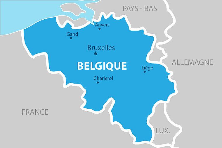Vos colis enfin livré En Belgique !